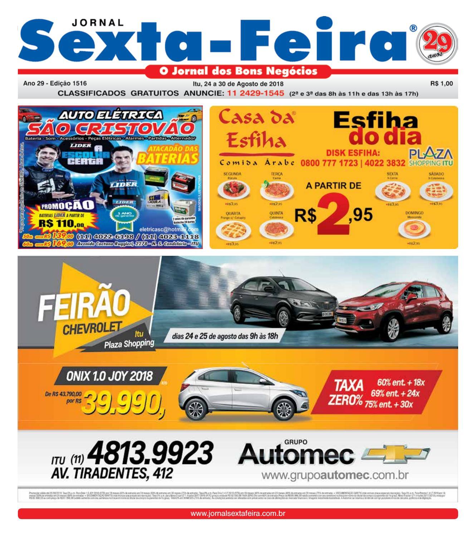 abc0f33d8 Jornal Sexta Feira, Edicao 1516 - Itu by Jornal Sexta Feira - issuu