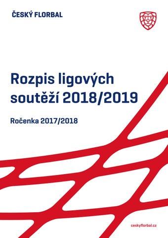 Český florbal  Celostátní soutěže 2018 2019 a ročenka 2017 2018 by ... 3981c2bb31