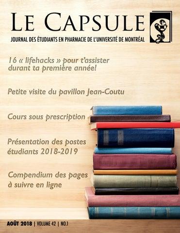 Photo Carte Assurance Maladie Jean Coutu.Le Capsule Aout 2018 By Le Capsule Issuu