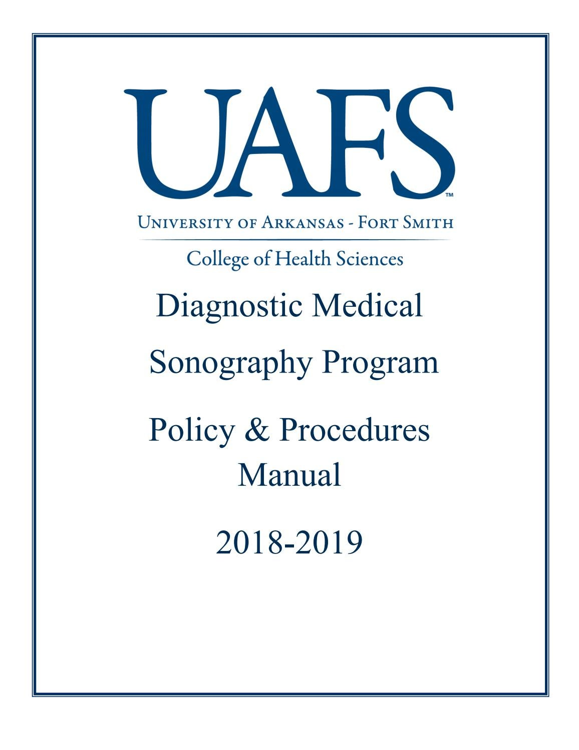DMS Policy Procedures Manual by University of Arkansas - Fort Smith - issuu