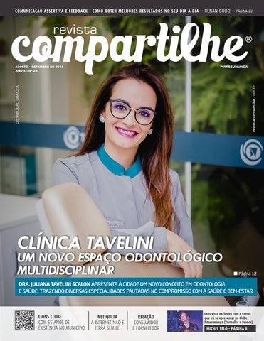 a62c5cc1a Revista Compartilhe - 29ª Edição   agosto e setembro de 2018 by ...
