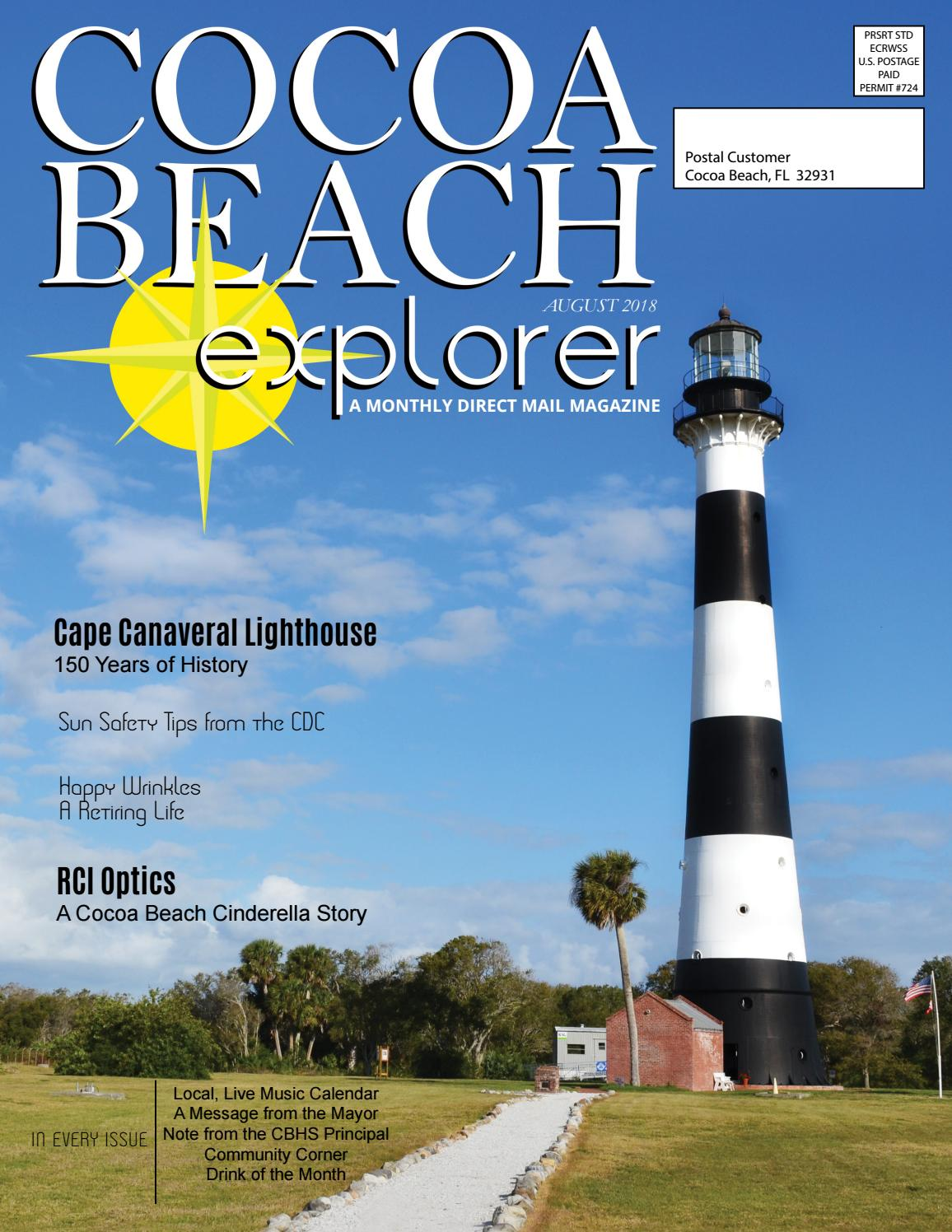 Brilliant Cocoa Beach Explorer August 2018 By Explorermultimedia Issuu Home Interior And Landscaping Ologienasavecom