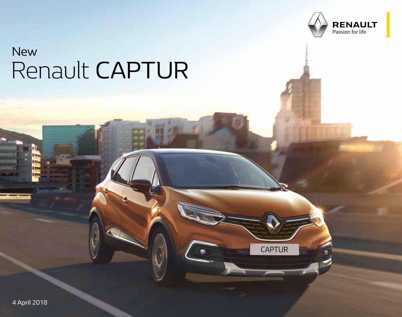 Renault Captur - Bæklingur by BL ehf  - issuu
