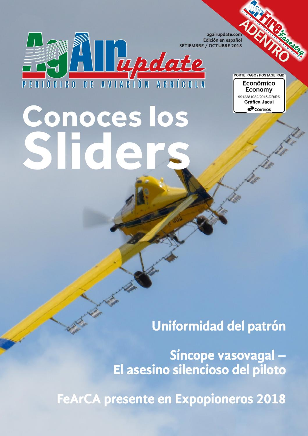 Setiembre 2018 - Edición en español by AgAir Update - issuu e53be1a039