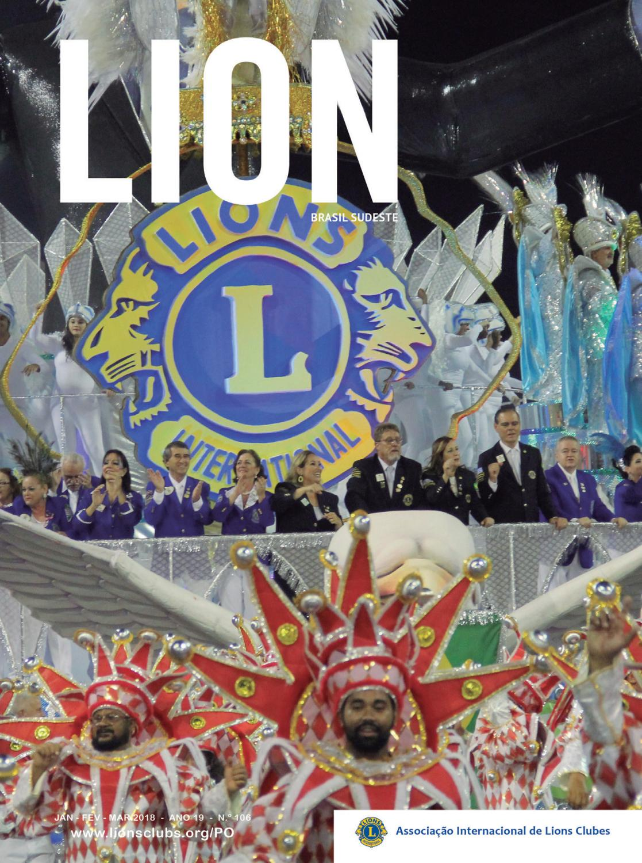 Lion Brasil Sudeste 106 by Revista Lion Brasil - Sudeste - issuu 89ab0299c85a0
