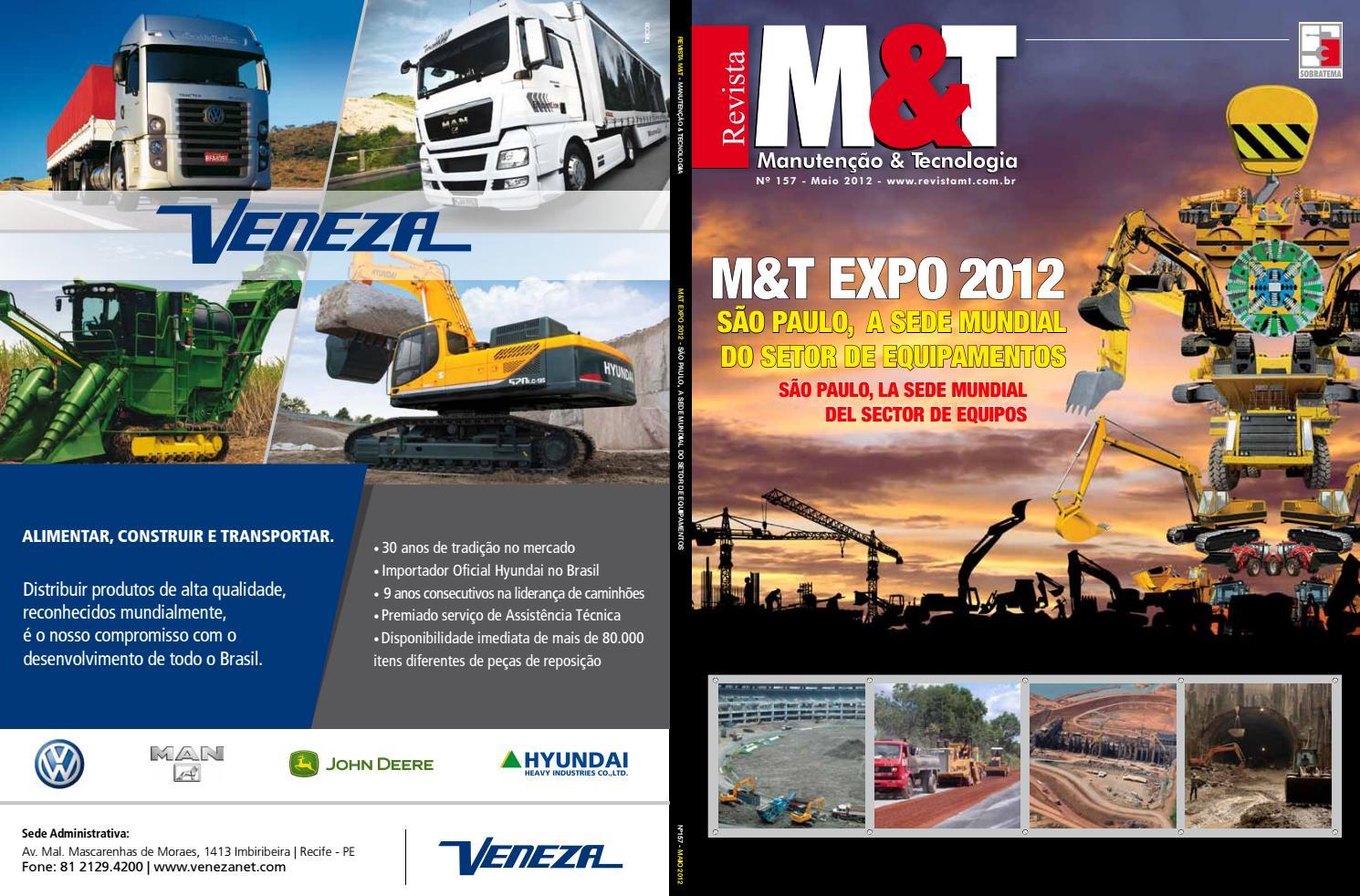 2e7a41de956bc Revista M T - Ed. 157 - Maio 2012 by Sobratema Publicações - issuu