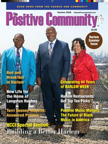 TPC 2018 Harlem Summer Issue by The Positive Community - issuu