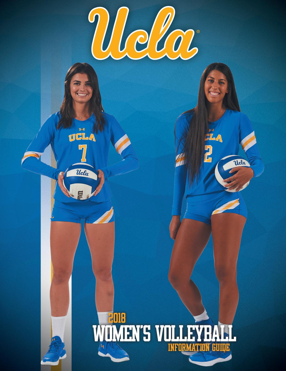 2018 Ucla Women S Volleyball Information Guide By Ucla Athletics Issuu