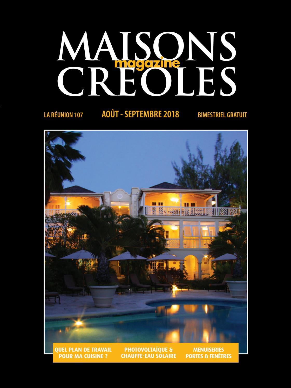 Magazine Maisons Créoles N°107 Réunion by Maisons Creoles - issuu e221296f88b