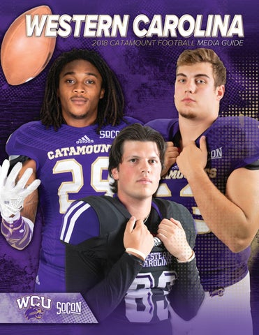 Western Carolina 2018 Football Media Guide by Western Carolina ... f9c71af47