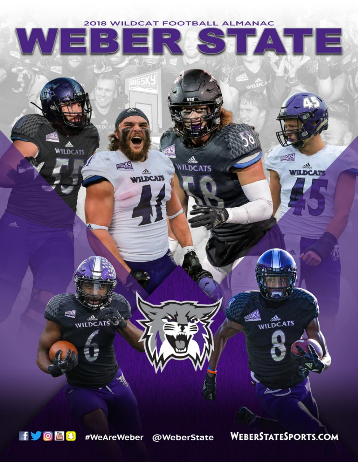 2018 Weber State Football Almanac By Weber State Athletic Communications Issuu