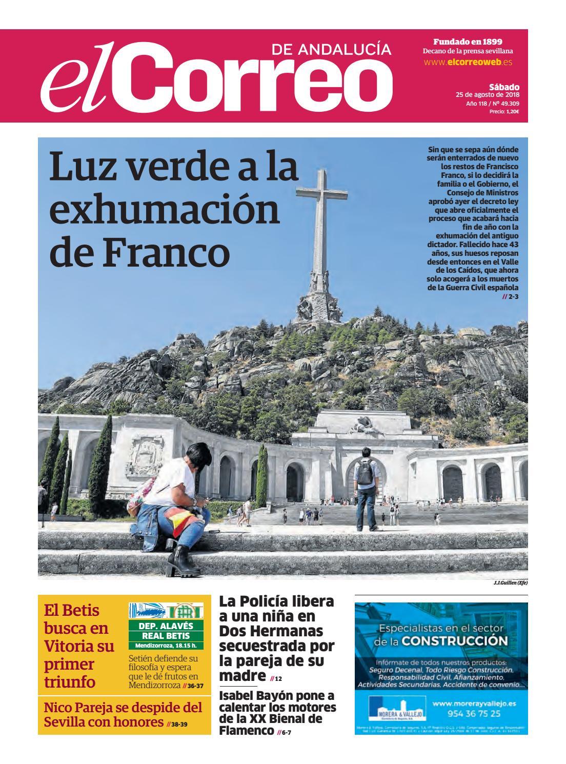 25.08.2018 El Correo de Andalucía. by EL CORREO DE ANDALUCÍA S.L. - issuu 4a66c951e81
