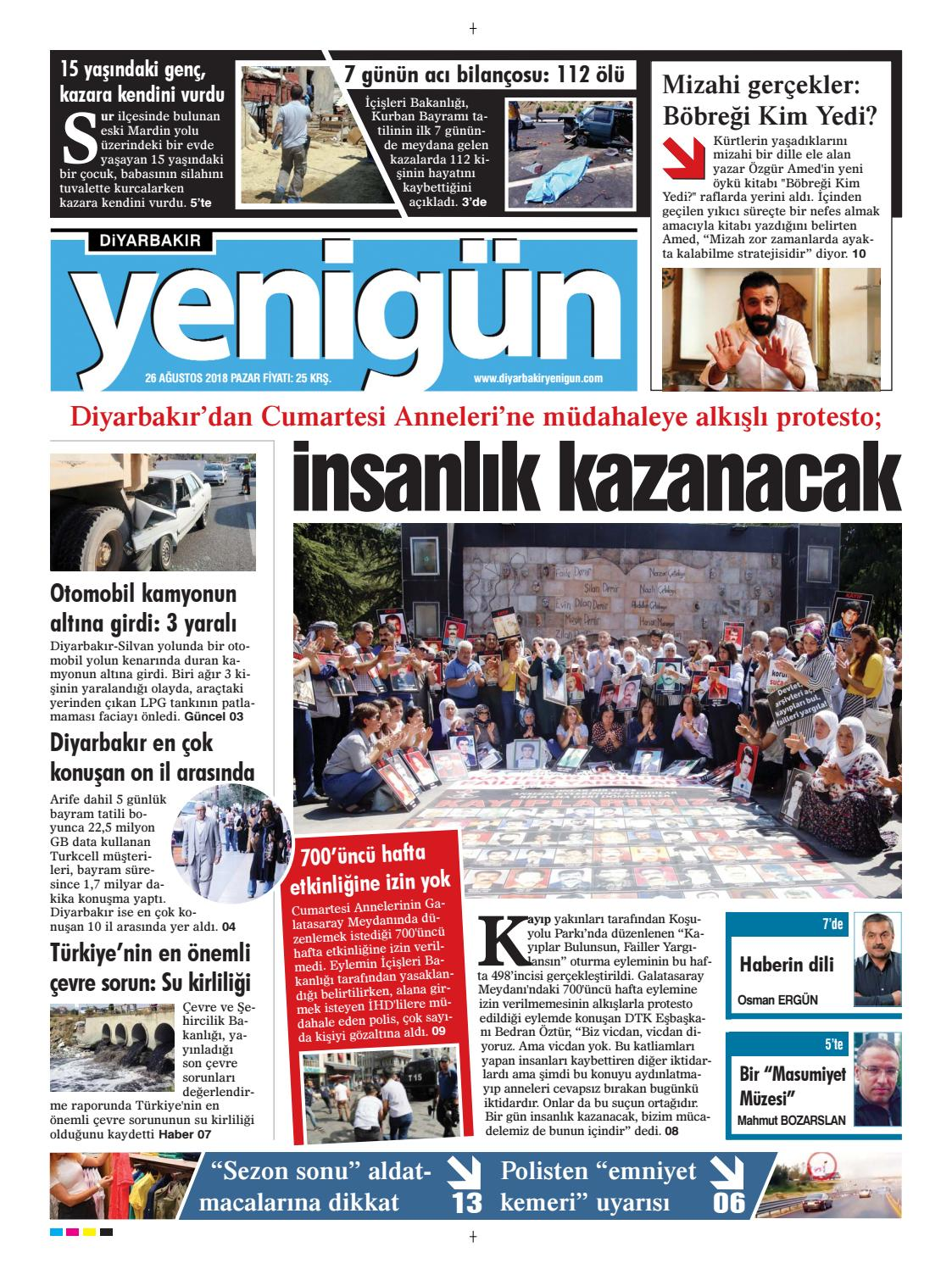 26 Agustos 2018 Pazar By Osman Ergun Issuu