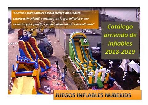 Catalogo De Juegos Inflables Jumpys By Ignacio Ruiz Medina Issuu