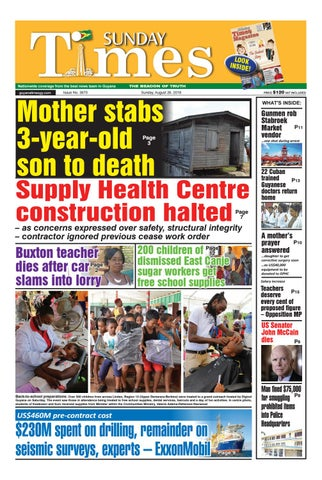 Guyana Times Daily August 26, 2018 by Gytimes - issuu