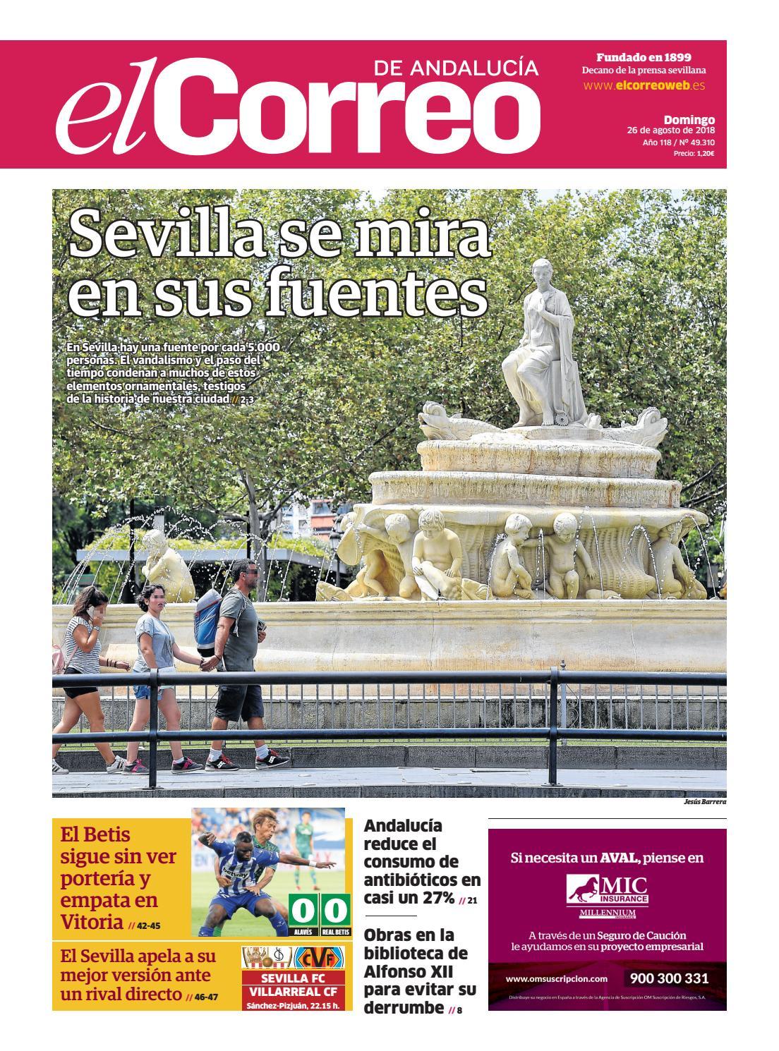 e4549f1322 26.08.2018 El Correo de Andalucía by EL CORREO DE ANDALUCÍA S.L. - issuu