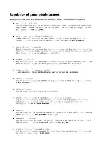 Roblox All Rules Admin Roblox By Mattia2002 Issuu