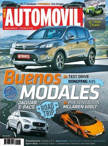 39edce3e7715 Revista Automóvil Panamericano Edición Chilena Nº106 (Agosto 2018 ...