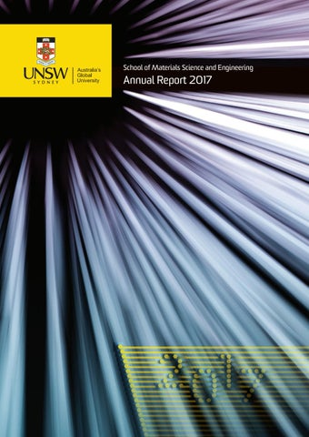 c60902848f6 UNSW Materials Science & Engineering Annual Report 2017 by UNSW ...