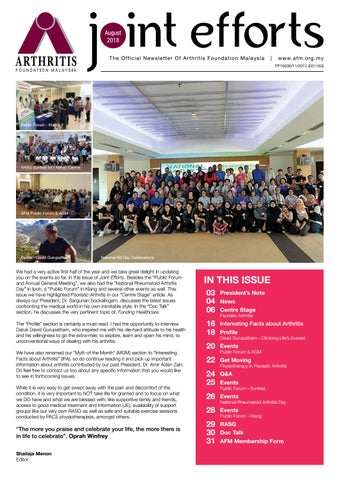 Joint Efforts August 2018 By Joint Efforts Afm Issuu