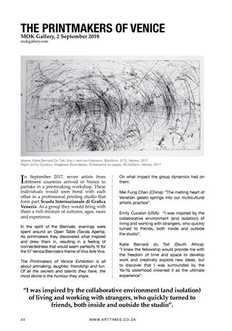 Page 44 of THE PRINTMAKERS OF VENICE