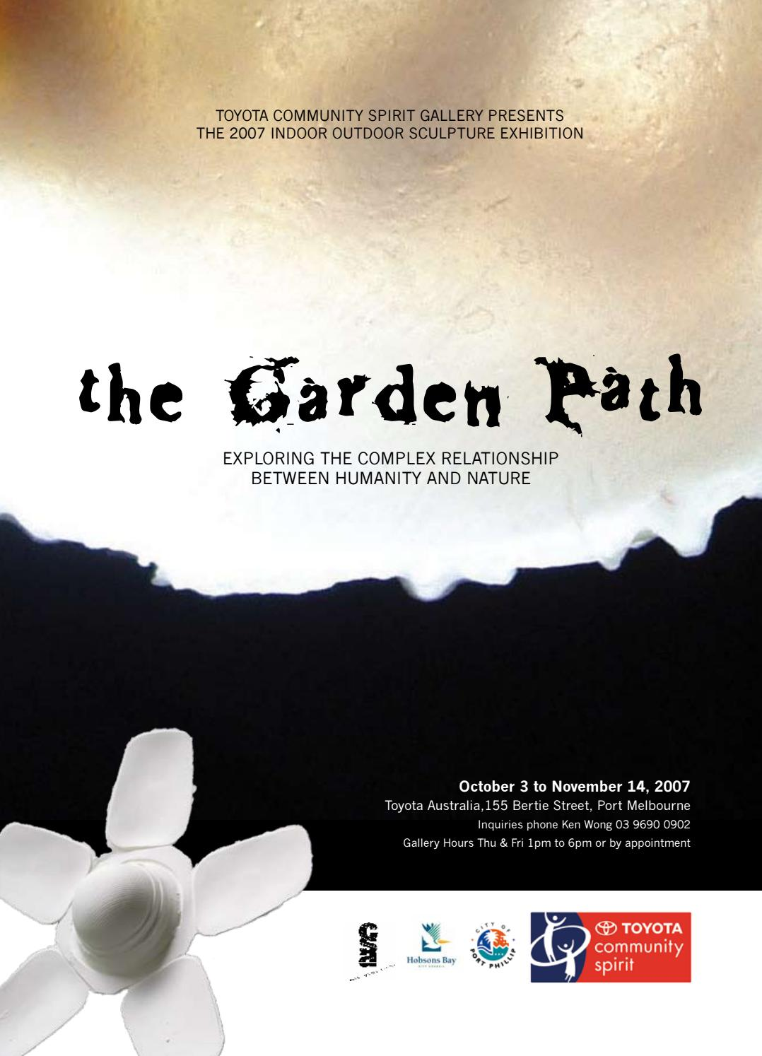 the Garden Path - exploring the complex relationship between humanity &  nature