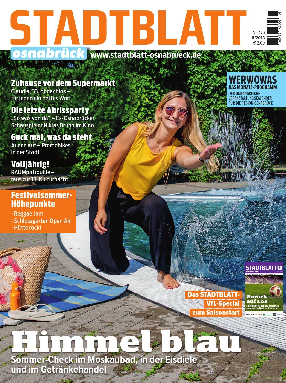 STADTBLATT 2018.08 by bvw werbeagentur - issuu