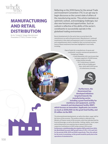 Page 110 of Manufacturing & Retail Distribution