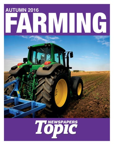 Topic Newspaper Midland Farmer Supplement by Topic