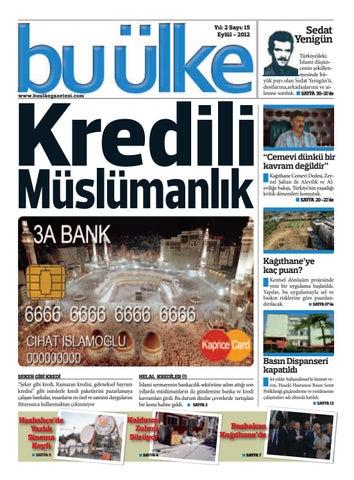 3ab4f0701fe38 Bu Ülke Gazetesi Sayı:15 by Bu Ülke - issuu