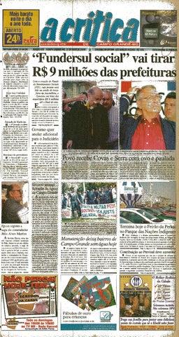 Jornal A Crítica - Edição 978 - 21 05 2000 by JORNAL A CRITICA - issuu 557dec1853d01