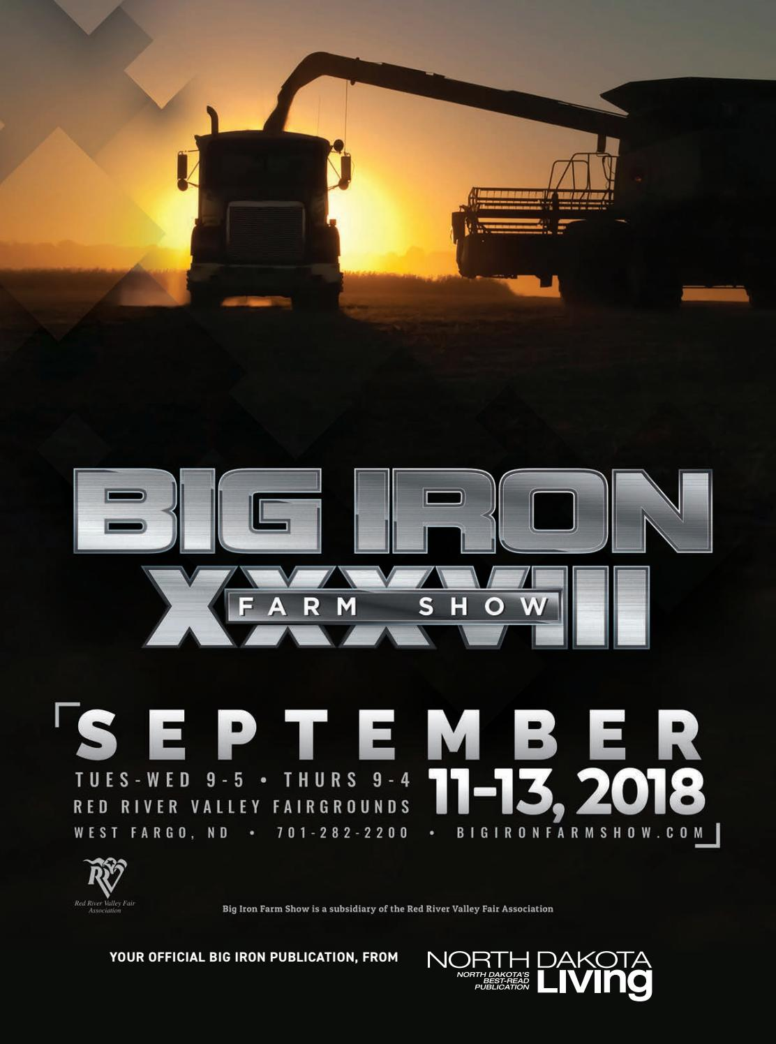 2018 Big Iron Farm Show Official Guide by Breann Lenzmeier