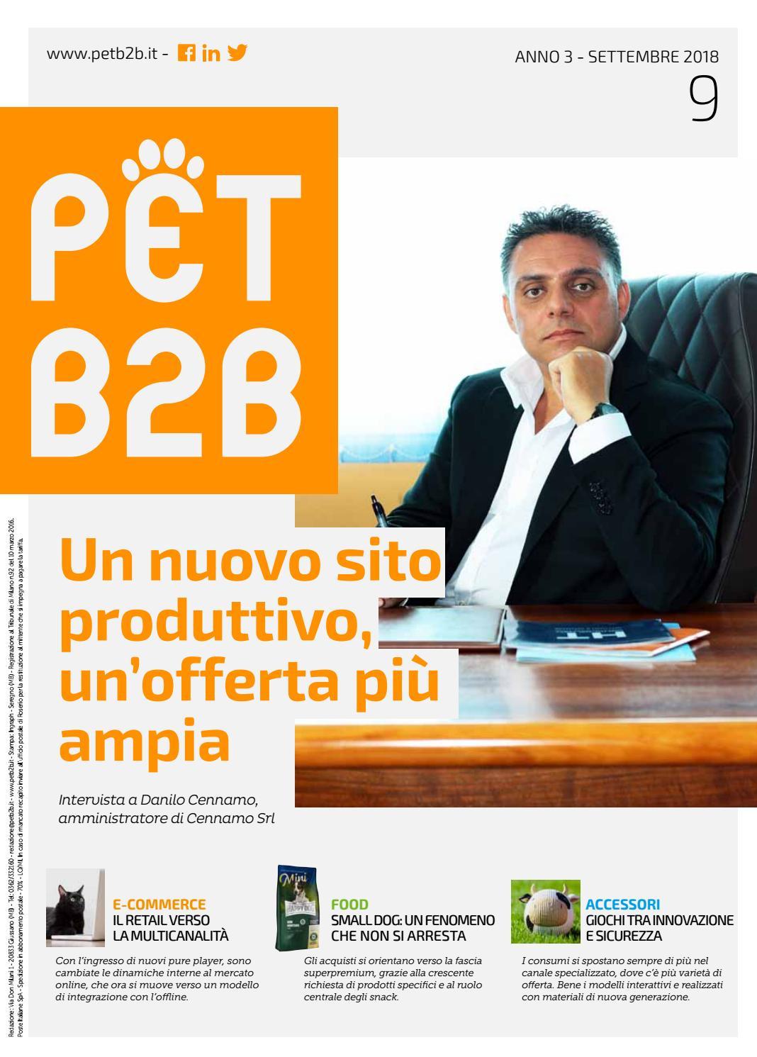 Pet B2B Settembre 2018 by by Editoriale Farlastrada - issuu 055c4152043