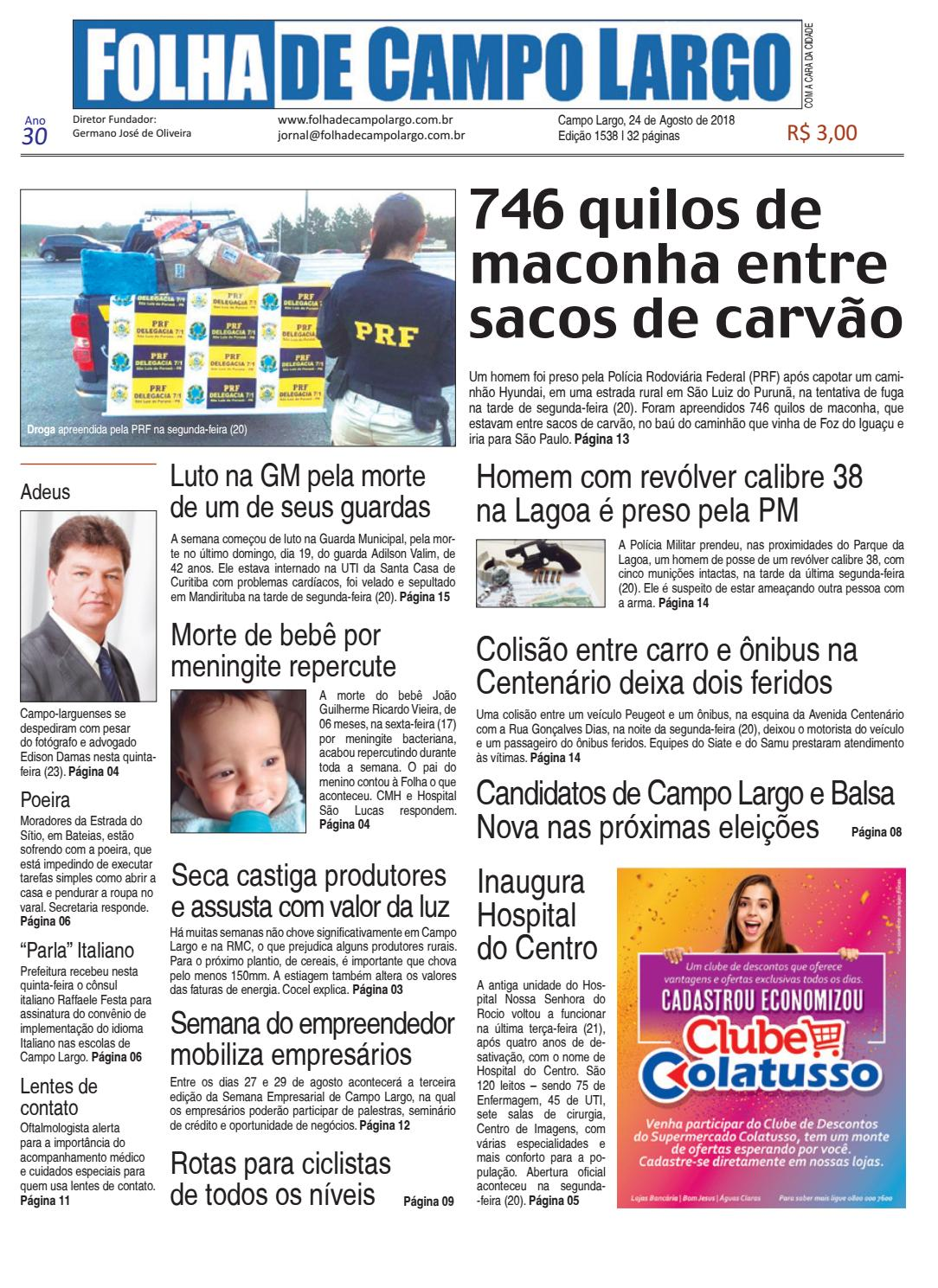 1d6e53d8c3fea Folha de Campo Largo by Folha de Campo Largo - issuu
