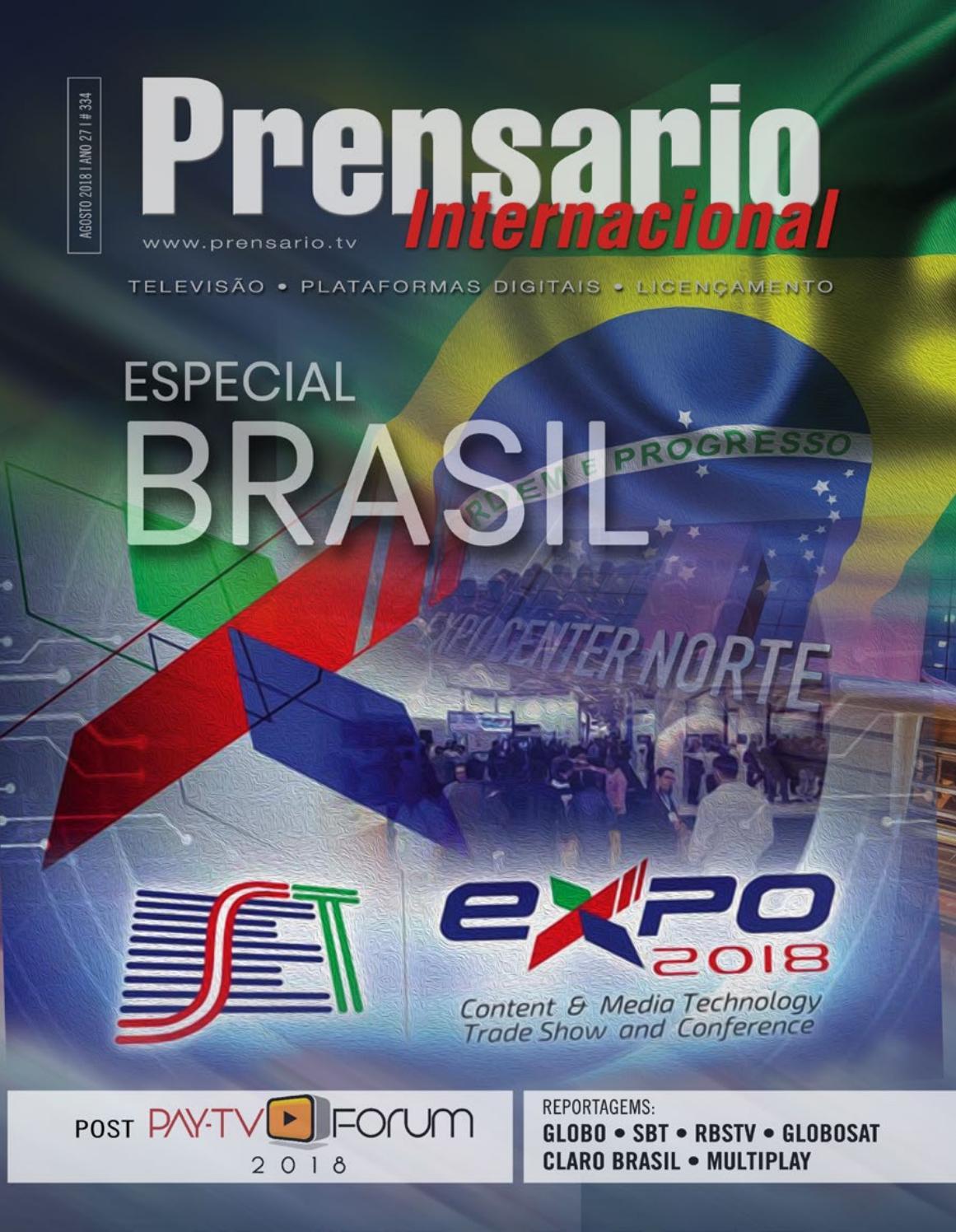 Edición especial SET Brazil 2018 de Prensario Internacional