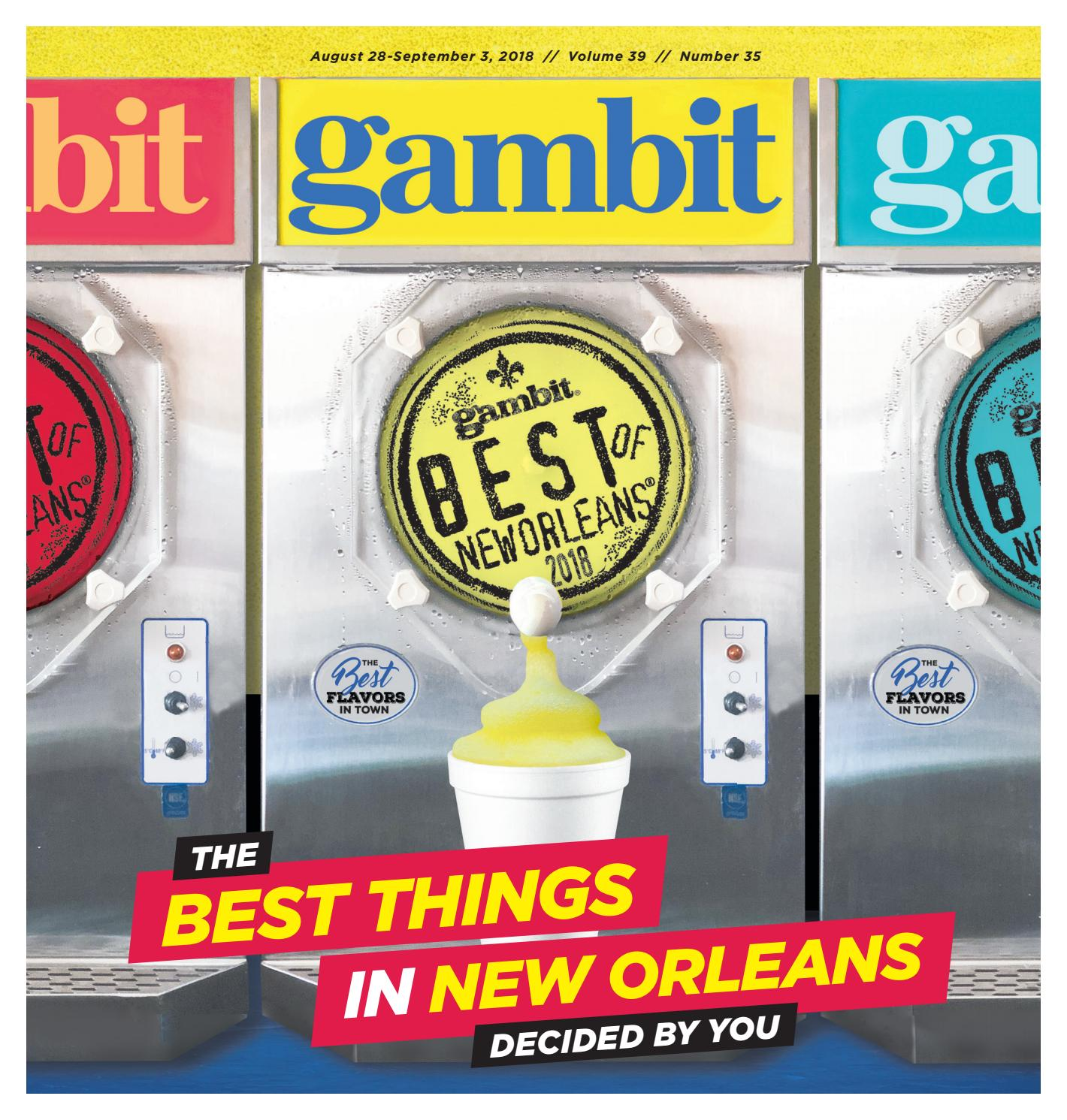 Gambit's Best of New Orleans 2018 by Gambit New Orleans - issuu