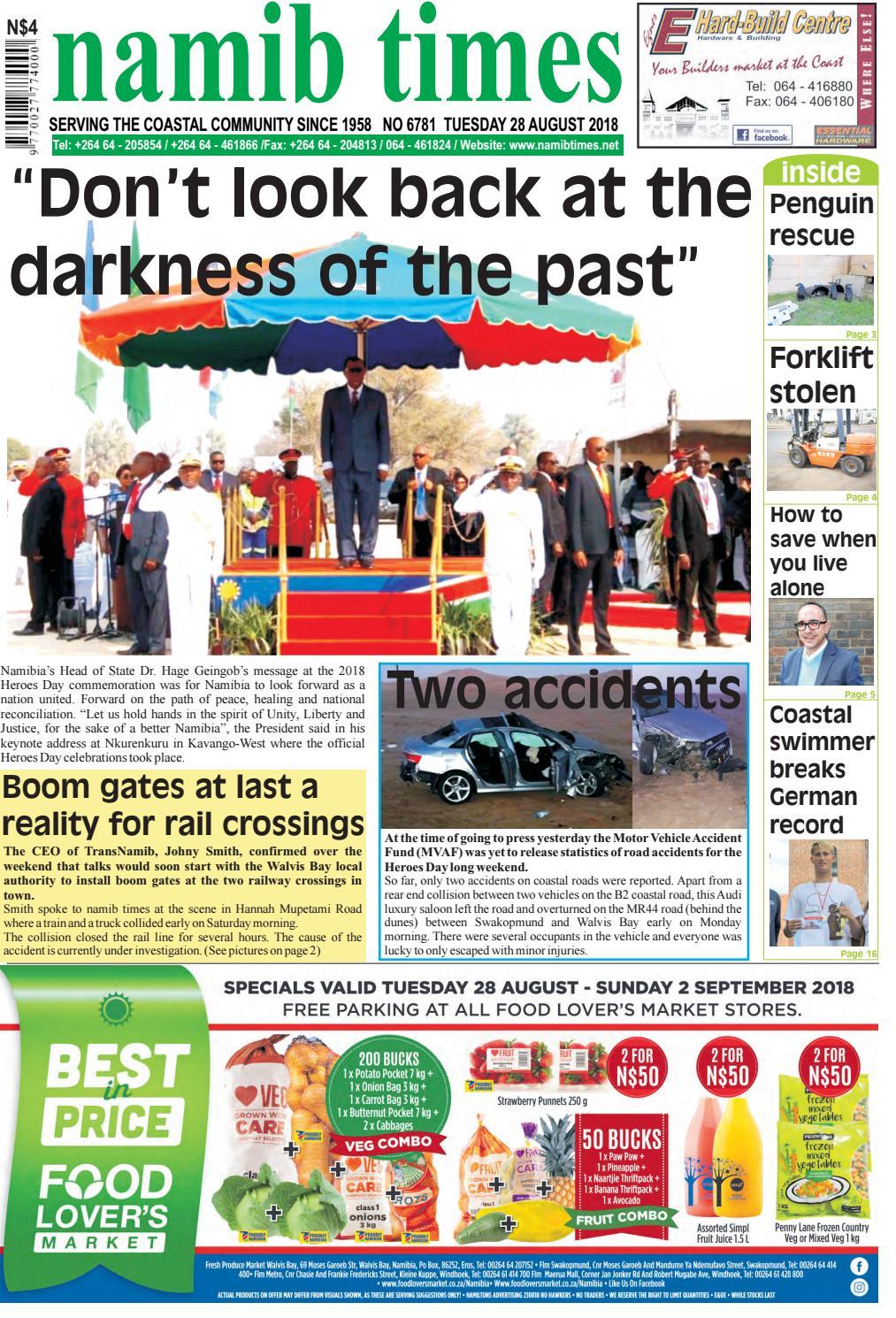 28 aug namib times e-edition by Namib Times Virtual - issuu