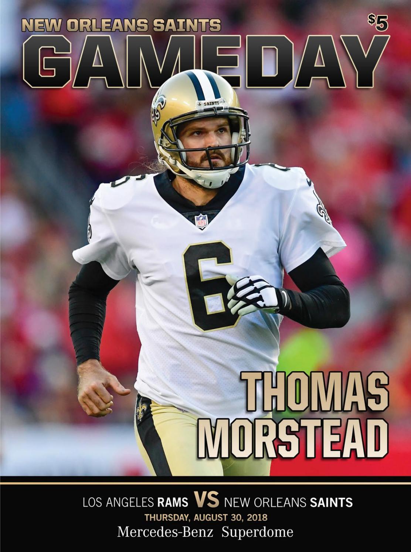 038f55ce Saints Gameday | New Orleans Saints VS Los Angeles Rams | Thursday ...
