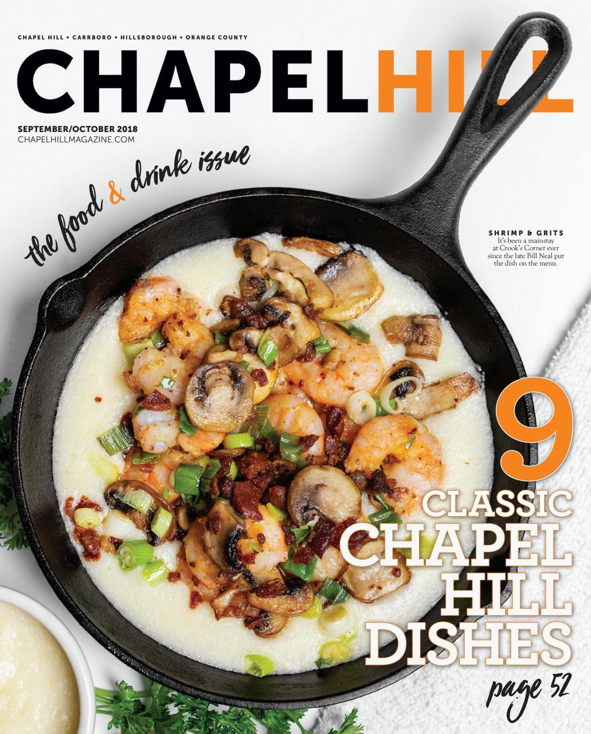 Chapel Hill Magazine September October 2018 By Shannon Media Issuu