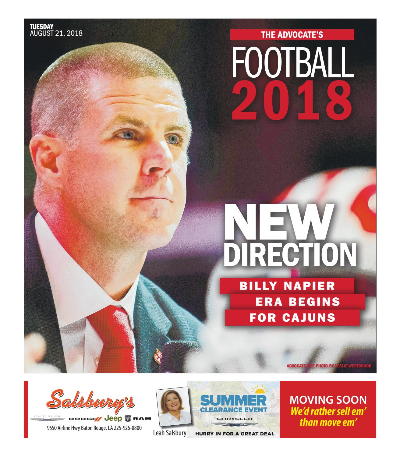 c6f9530d7 Football 2018: New Direction by The Advocate - issuu