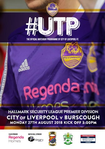6022a2e4504 hallmark security league premier division city of liverpool v burscough  monday 27th august 2018 kick off 3 00pm
