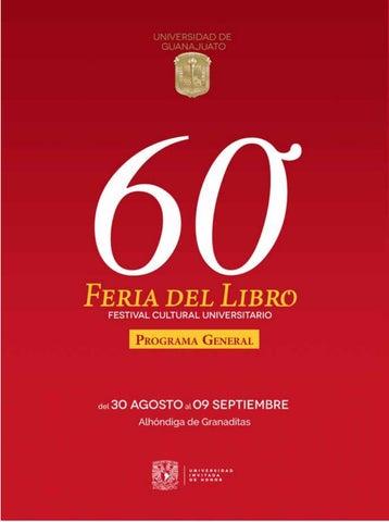 60 Feria Del Libro Y Festival Cultural Universitario 2018 By