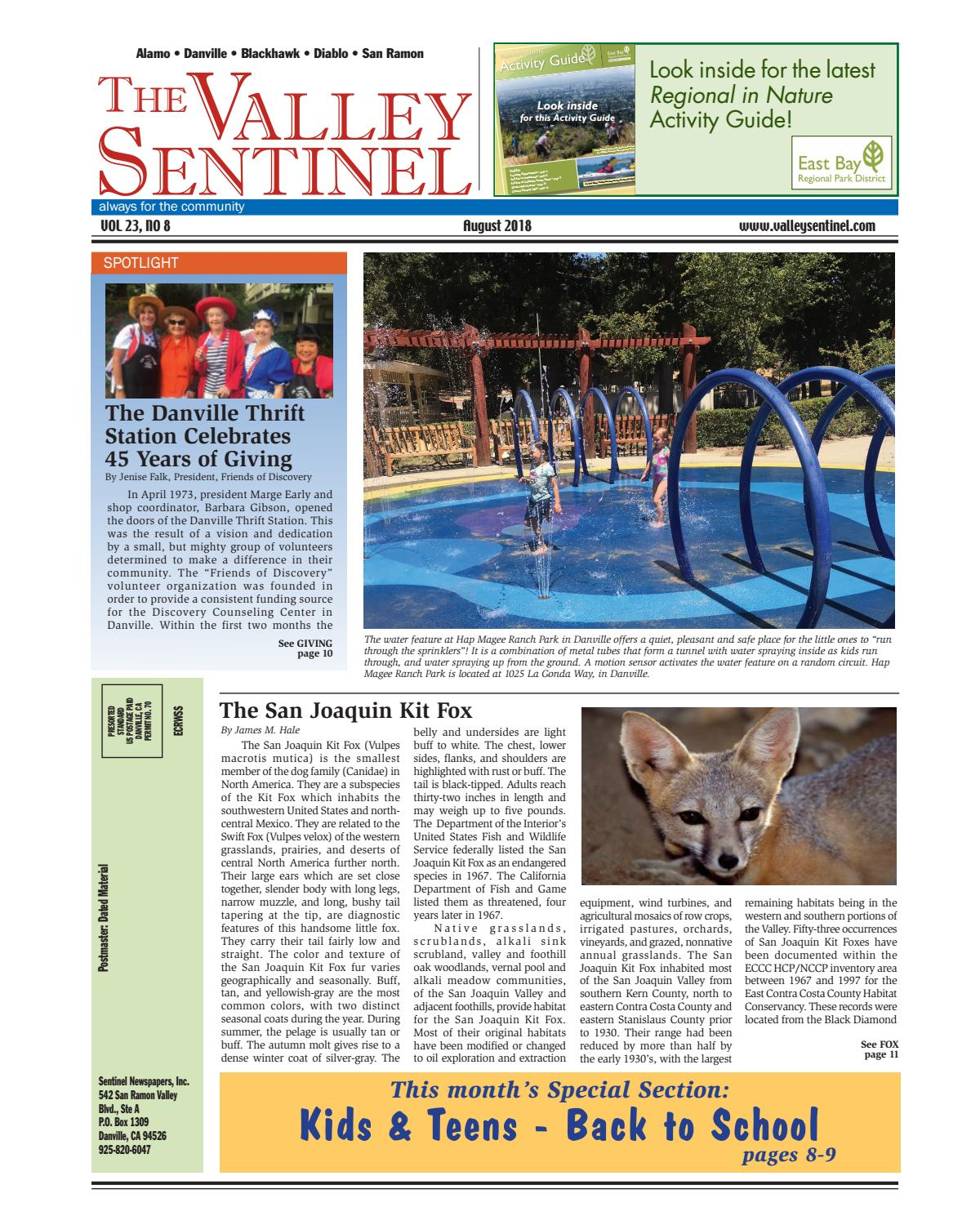 e41c9f79f7 The Valley Sentinel_August 2018 by Sentinel Newspapers - issuu