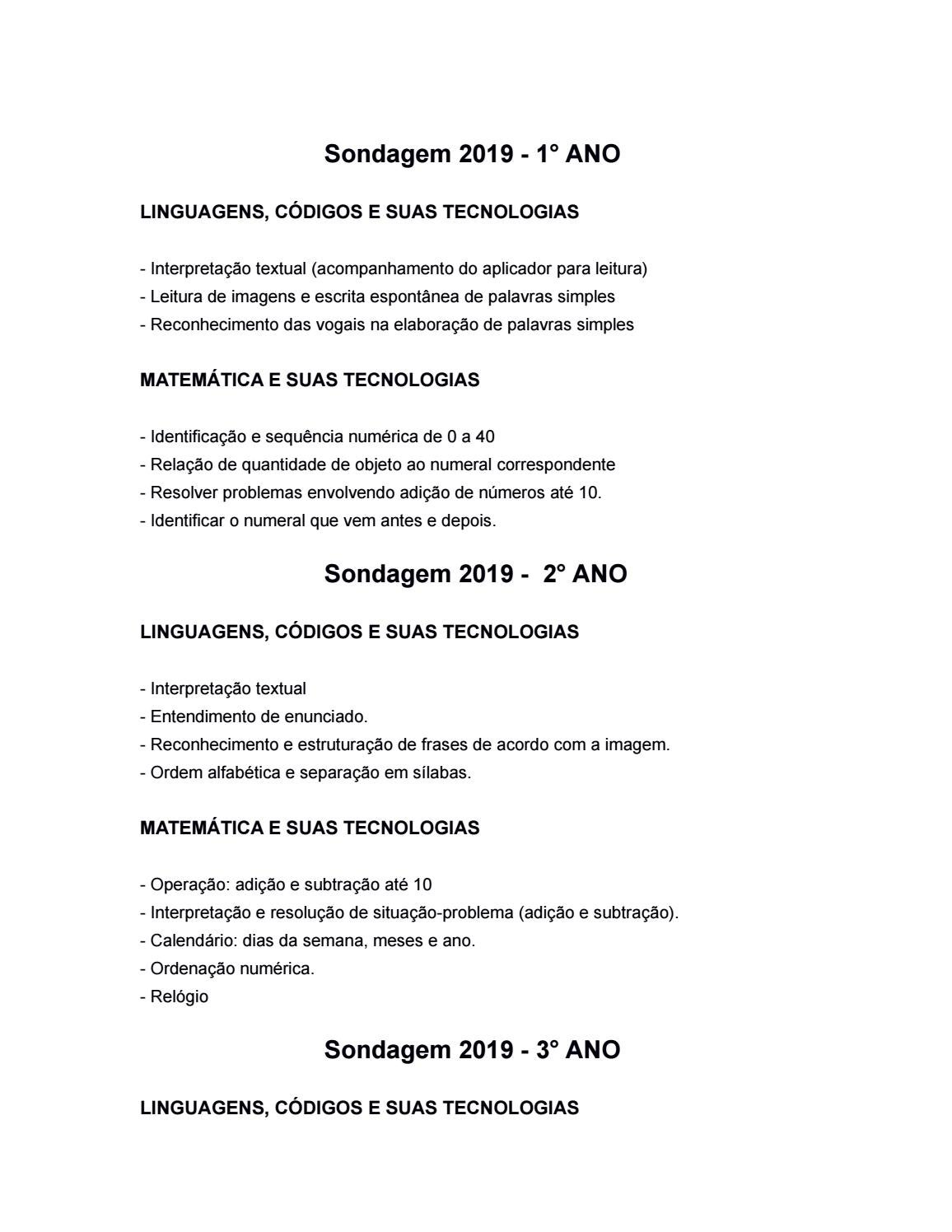 Conteudo Pragmatico 2019 By Colegio Arnaldo Issuu