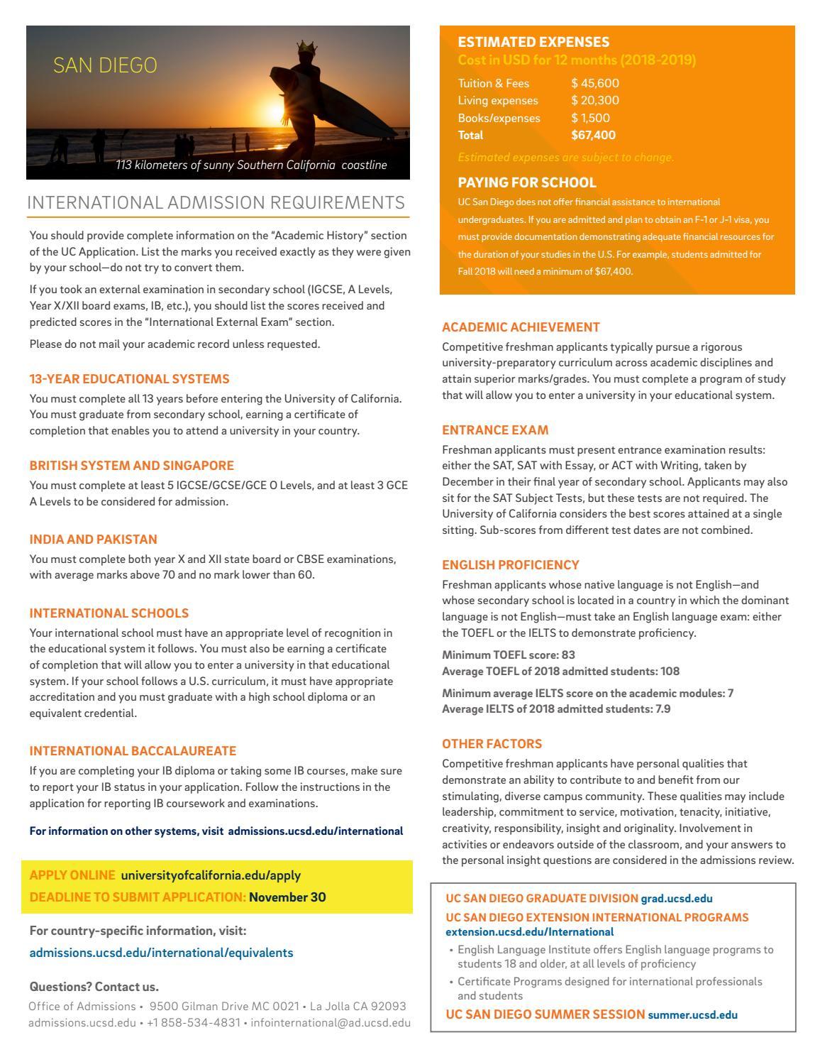 International Flyer by UC San Diego Admissions - issuu