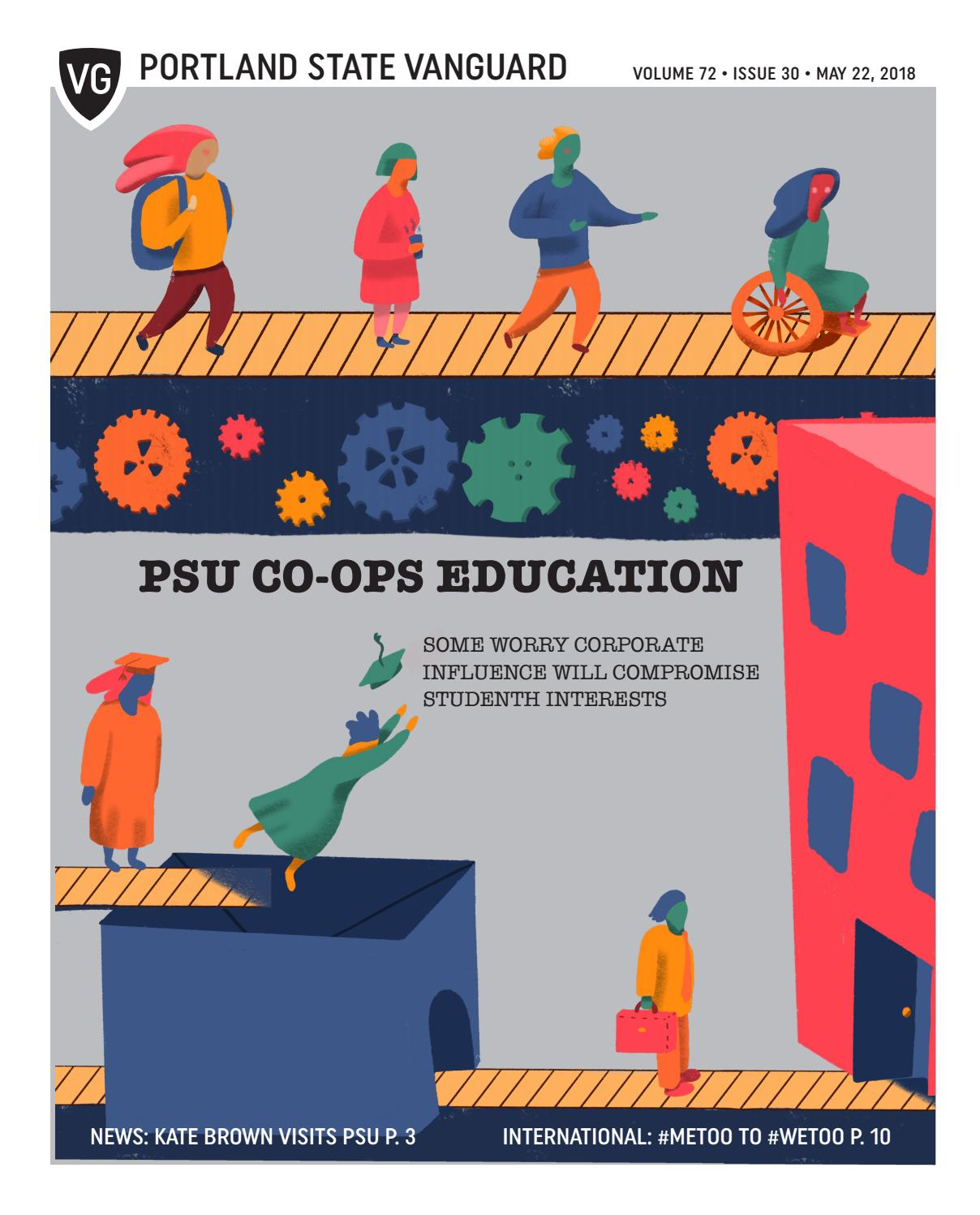 Portland State Vanguard Vol  72 Issue 30 by Portland State