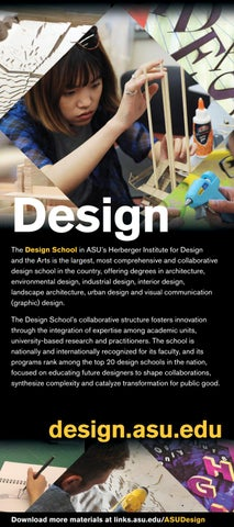 Design The Design School In ASUâu0026#x20AC;u0026#x2122;s Herberger Institute For  Design And The Arts Is The Largest, Most Comprehensive And Collaborative  Design ...