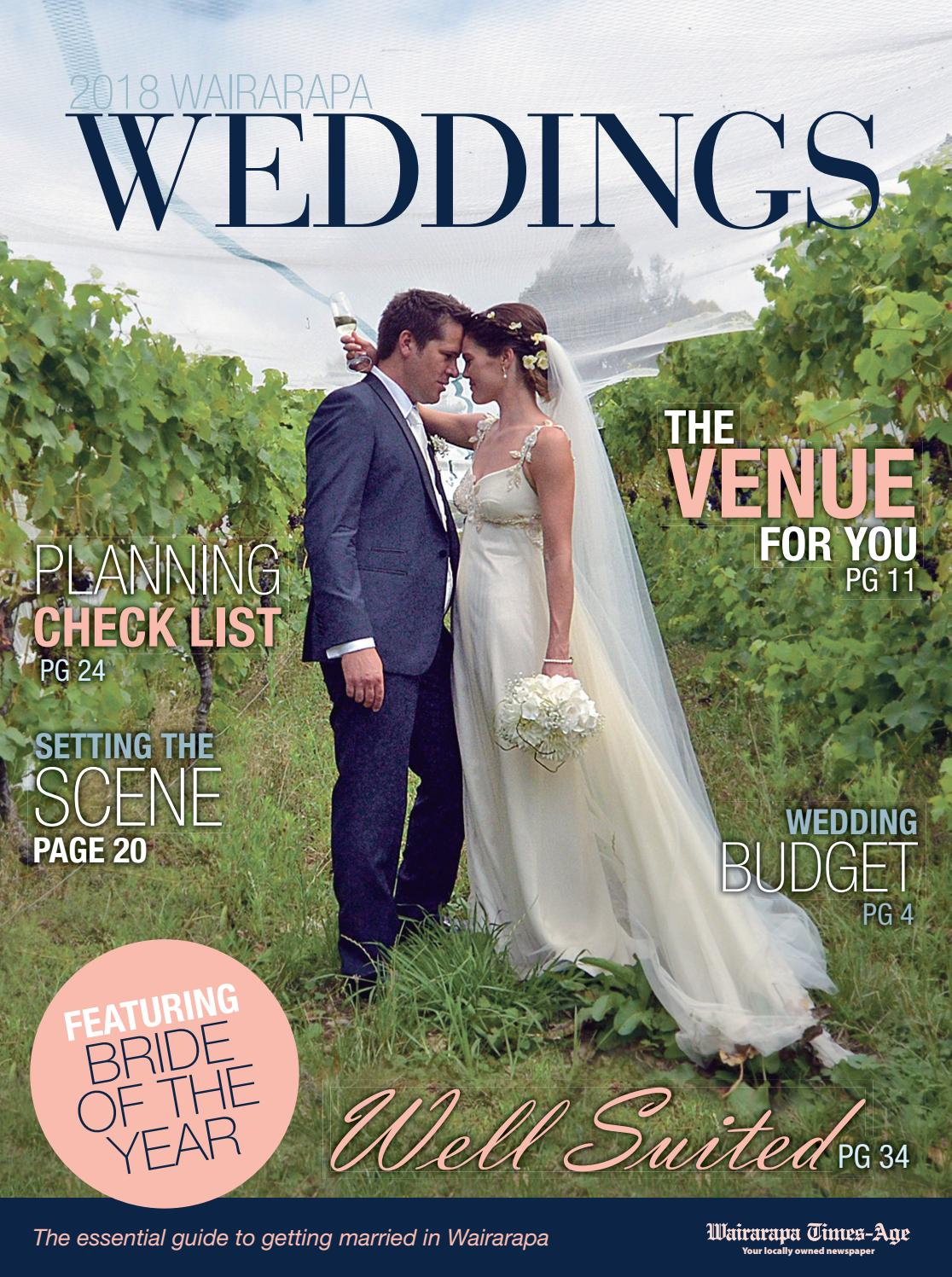 ca9d5c00c Wairarapa Weddings 2018 by Wairarapa Times-Age - issuu