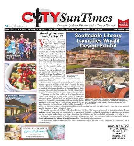 North Valley September 2018 Issue CITYSunTimes by Jenifer