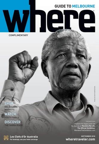 32062d625741 Where Magazine Melbourne Sep 2018 by Morris Media Network - issuu